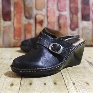 BOC Born Concept Shoes Slip On Comfort Clogs Wedge
